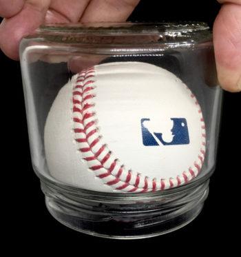 Bottle Magic Harry Eng Original - Baseball in Salsa Jar Ball
