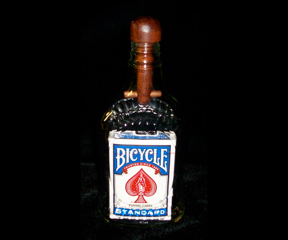 Bottle Magic Created for Magician Eugene Burger