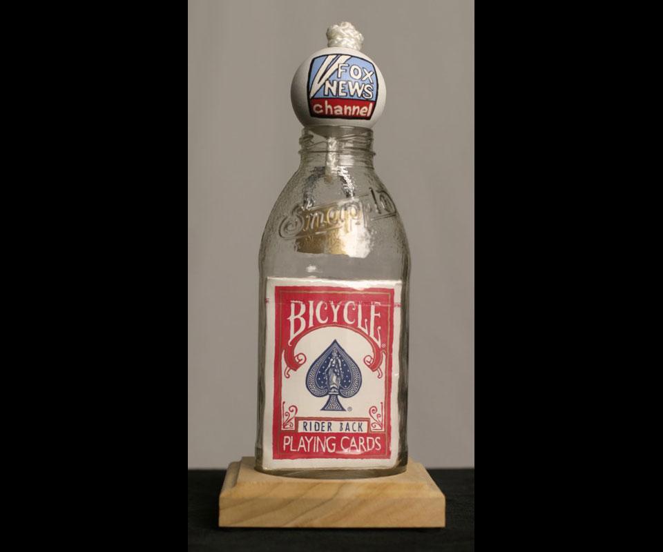 Bottle Magic Created for Tony Snow