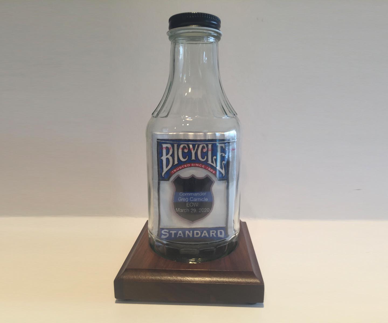 Bottle Magic End of Watch Bottle